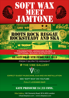 SOFT WAX MEET JAMTONE - REGGAE DANCE NIGHT