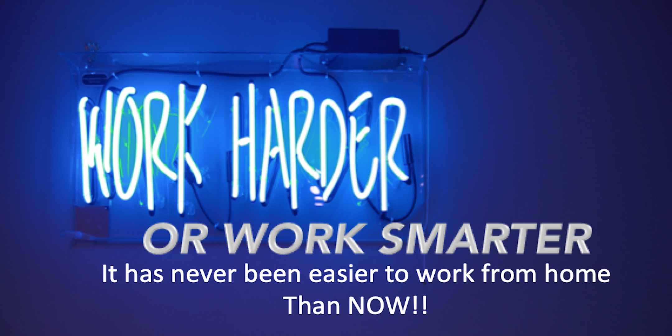 ***STRESSED BY THE PROSPECT OF LOOSING YOUR JOB*** WHY NOT WORK SMARTER FROM HOME