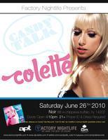 DJ COLETTE LIVE @ NOIR