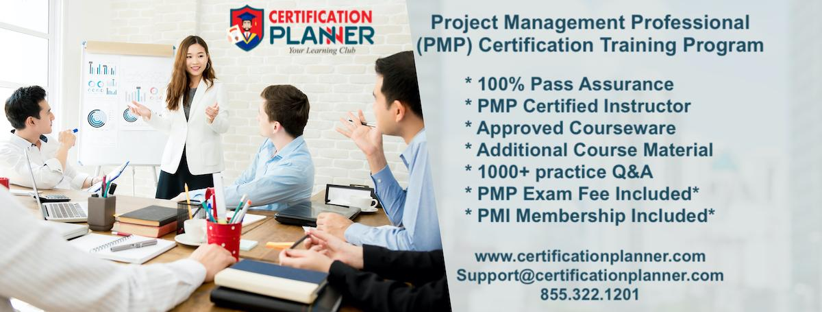 Project Management Professional PMP Certification Training in Auburn