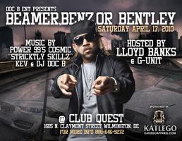 THE BEAMER BENZ OR BENTLEY AFFAIR WITH LLOYD BANKS LIVE