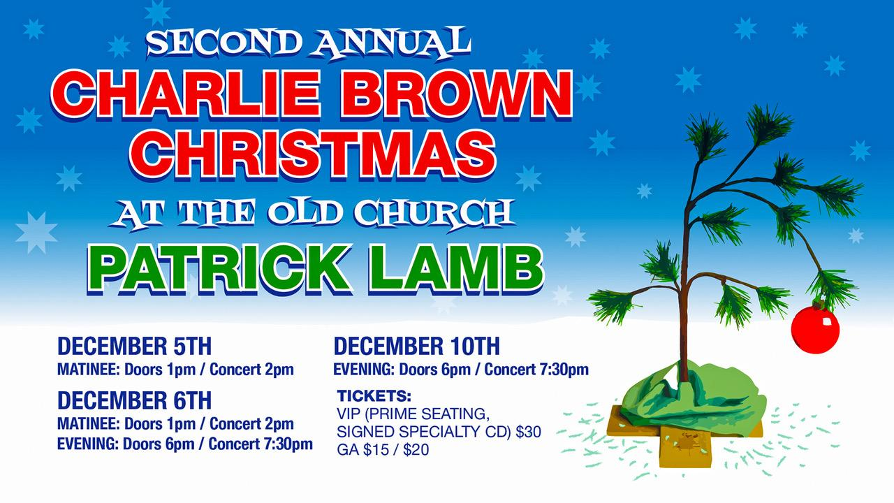 Charlie Brown Christmas Dec 2020 A Charlie Brown Christmas with Patrick Lamb   5 DEC 2020