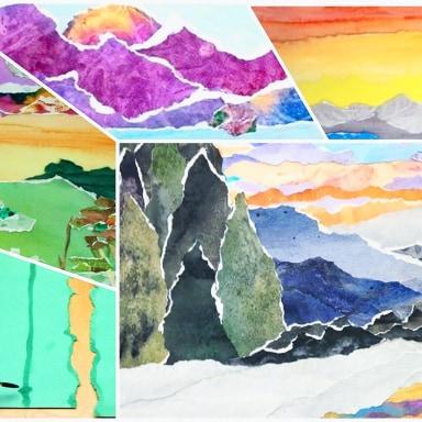 Landscape Paper Craft Workshop