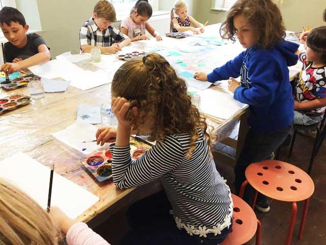 KIDS ART CLUB - JULY 'WATERCOLOUR PAINTING'