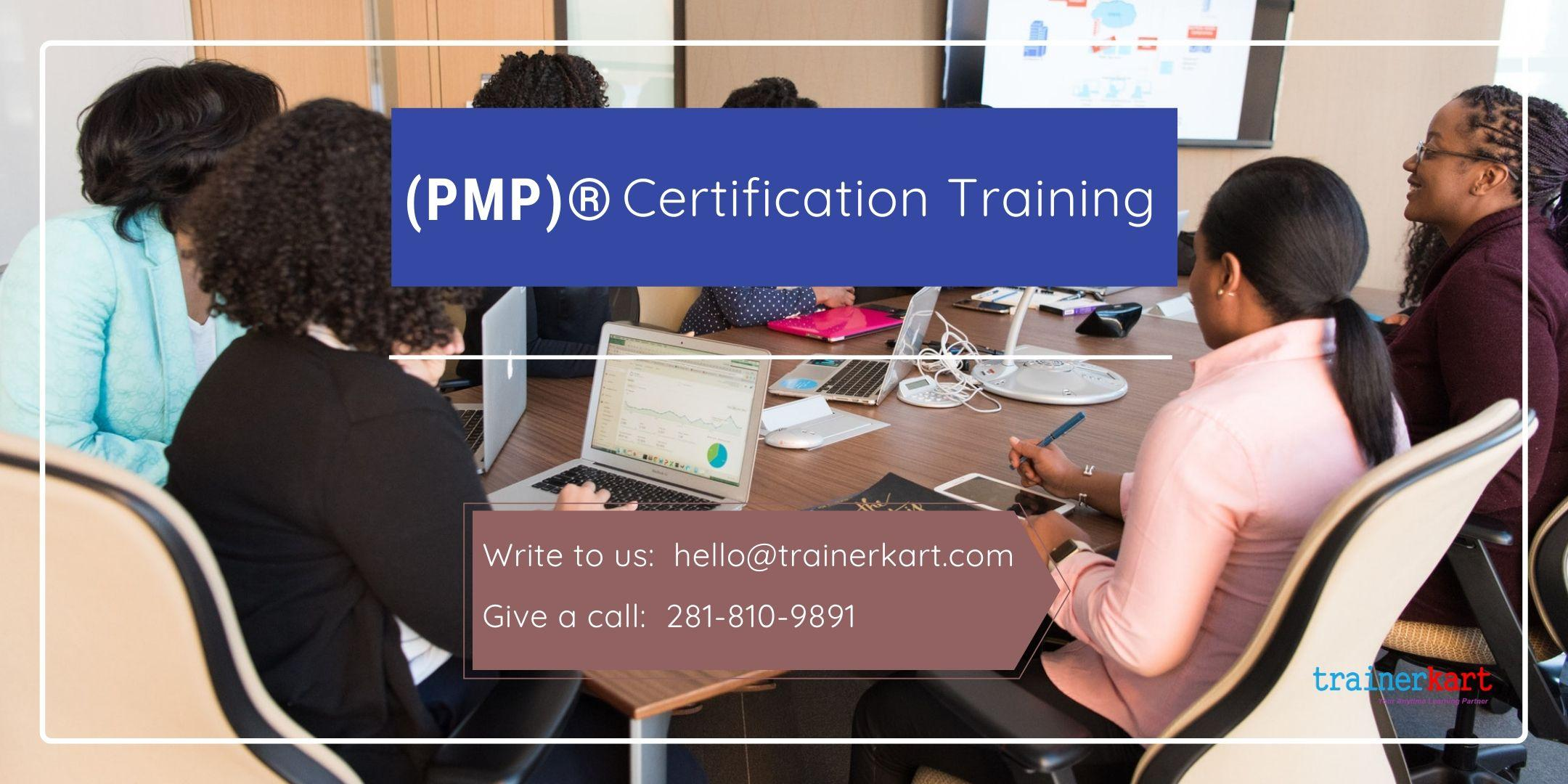 PMP 4 day classroom Training in Fort Saint John, BC