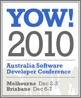 YOW! Developer Conference 2010 - Melbourne