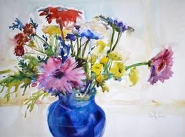Fabulous Flower Watercolor with Marilyn Rose