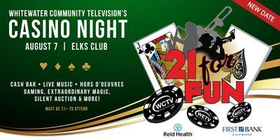WCTV's 21 for Fun Casino Night