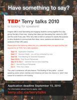 TEDx Terry talks 2010