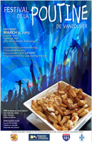 Festival de la Poutine de Vancouver 2.0: Saturday March 9...