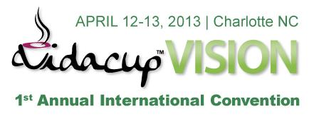 Vidacup Vision 2013 International Launch
