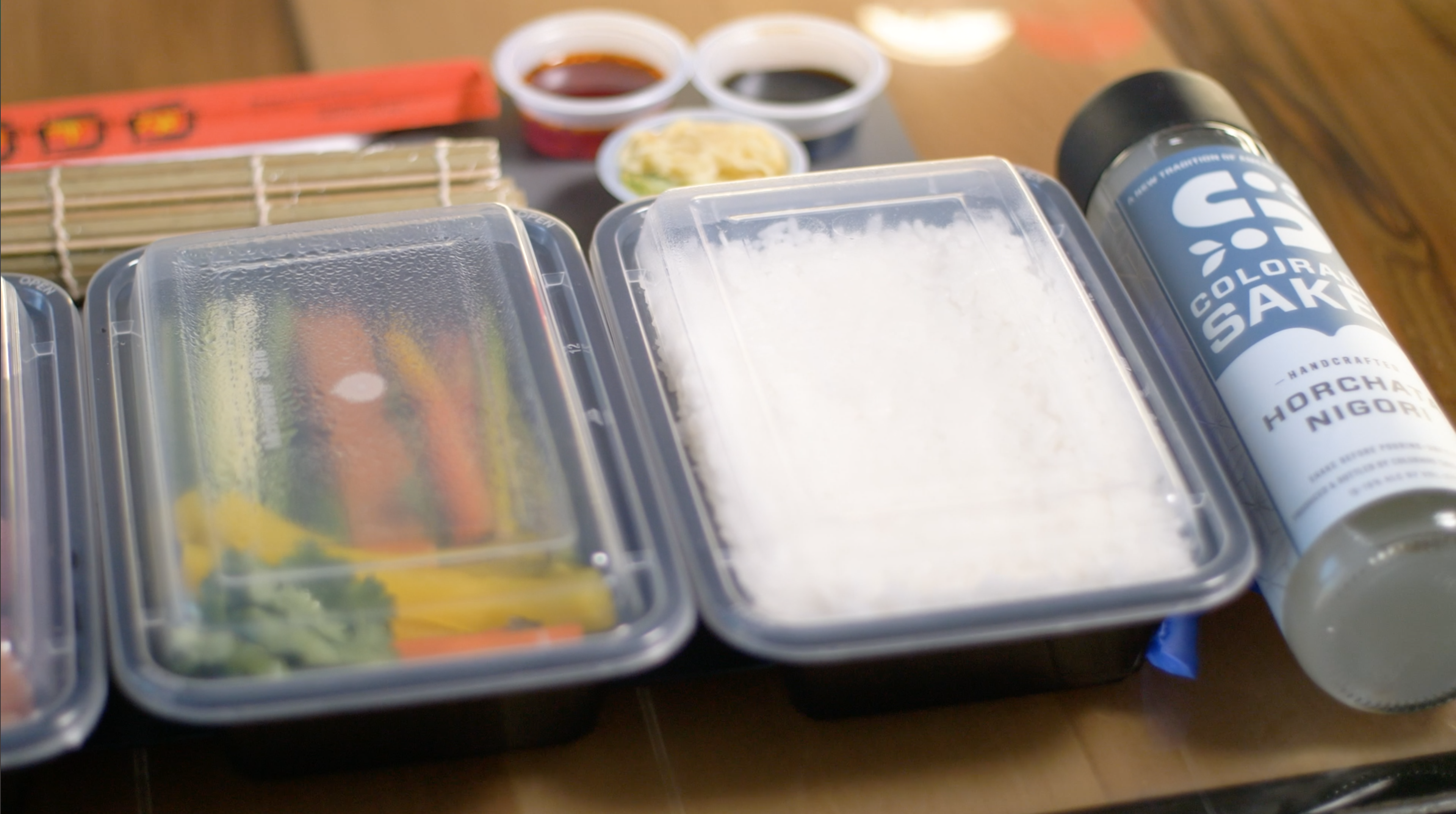 Sushi rolling date night from your home! Livesteam Via Zoom