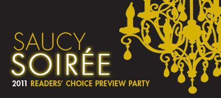 Saucy Soiree :: Sauce Readers' Choice Party 2011