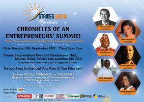Chronicles of an Entrepreneurs Summit!!!         Plus...