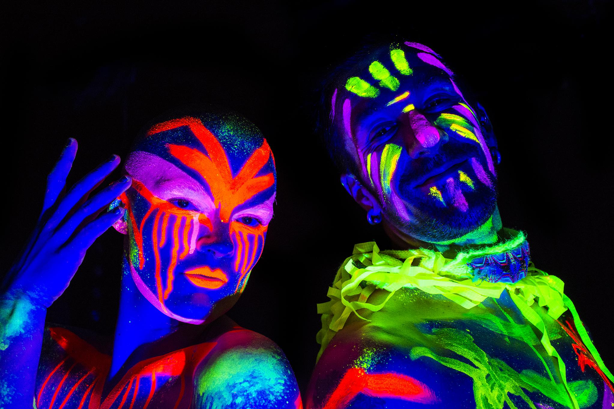 Drink, Shop & Do Host Neon Naked Life Drawing!