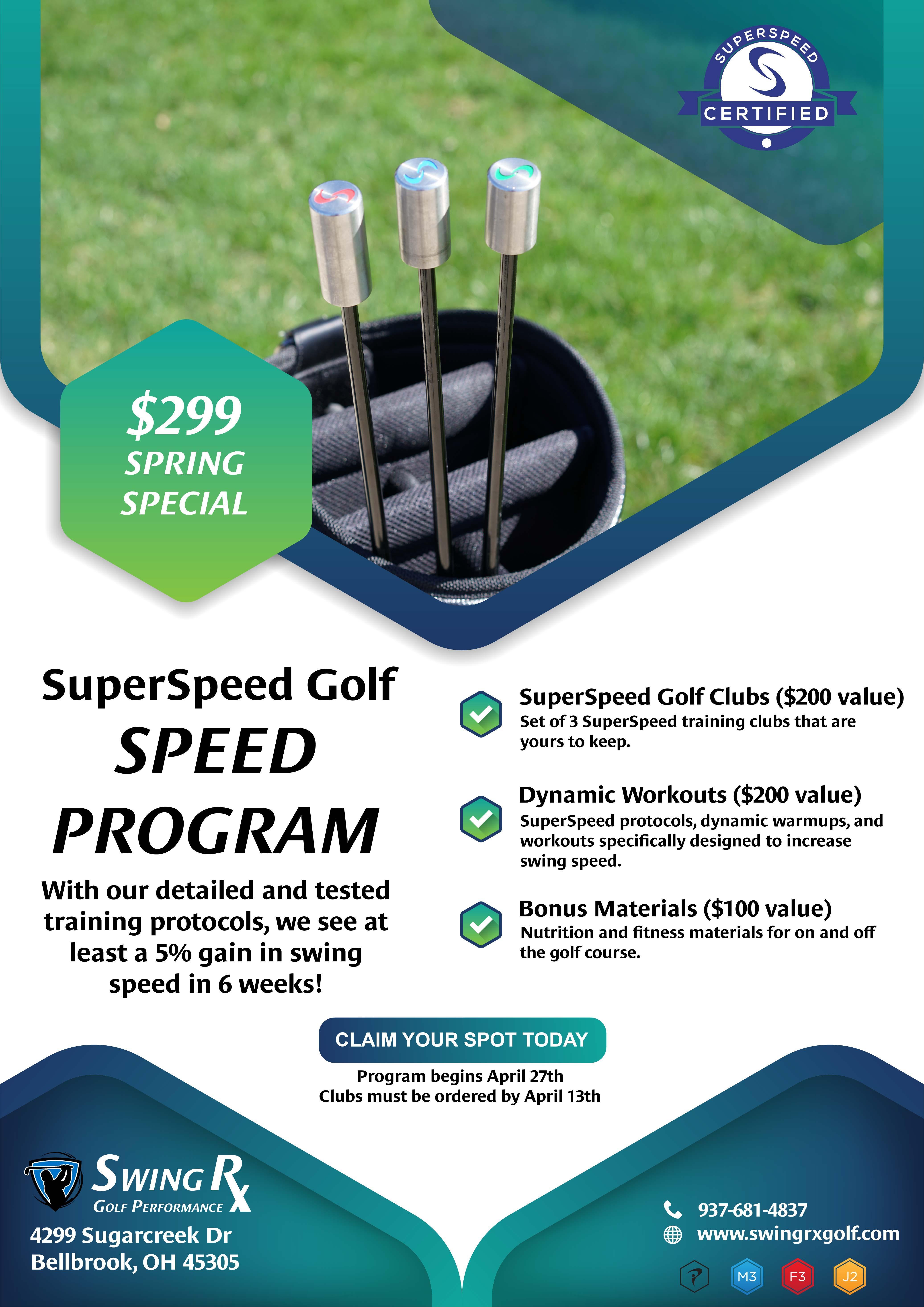 SuperSpeed Golf - Swing Speed Program