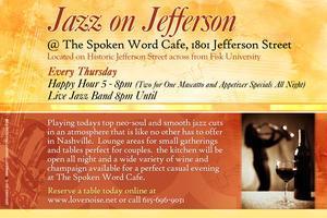 Jazz on Jefferson  @ The Spoken Word Cafe
