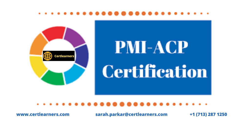 PMI-ACP 3 Days Certification Training in Anchorage, AK,USA