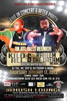 Raheem The Dream & Kilo Live Concert & After Party