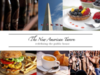 The New American Tavern logo
