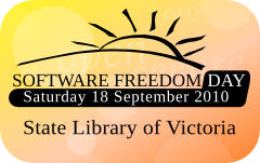 Software Freedom Day Melbourne 2010