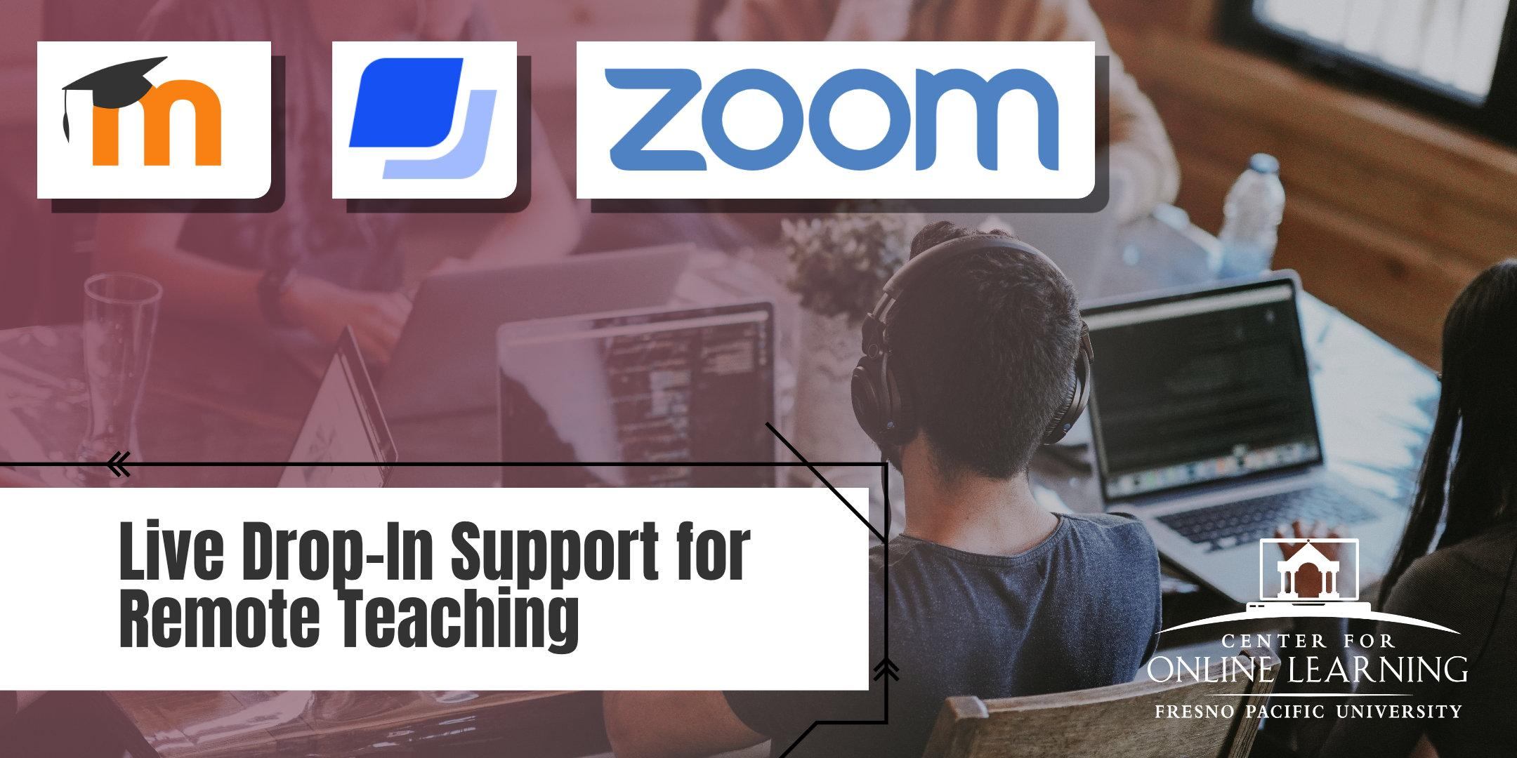 LIVE Drop-In Support for Remote Teaching (Virtual)