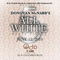 Donovan McNabb All White Party
