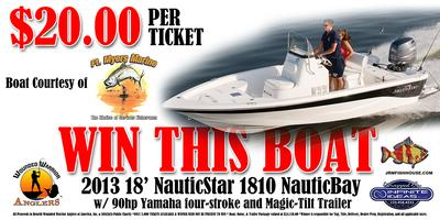 2013 18' NauticStar - Boat Raffle to Support Wounded...