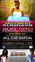 Algebra Live at Sambuca Jazz Cafe
