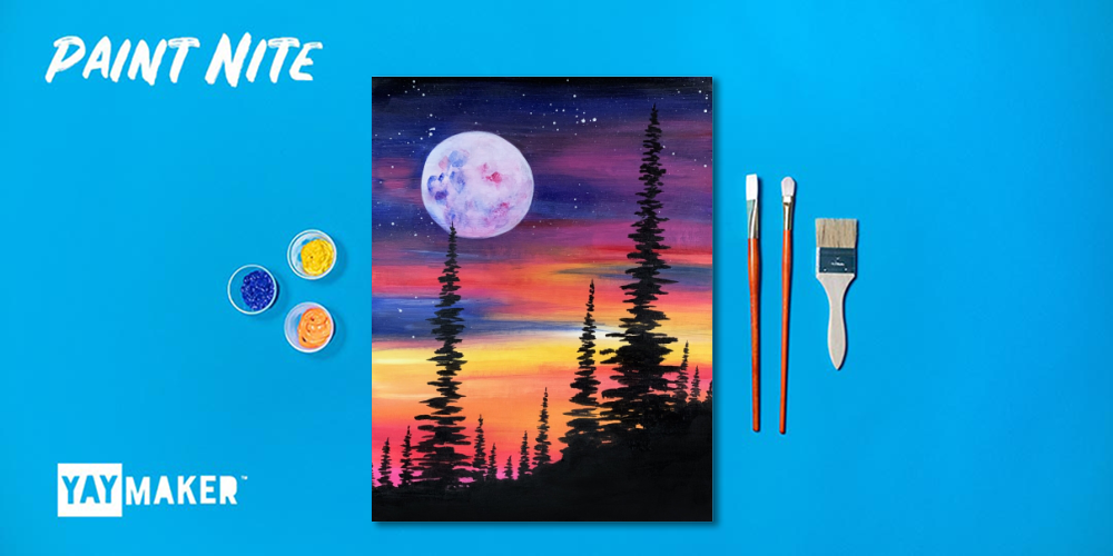Virtual: Family Paint Party