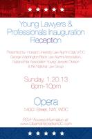 Young Lawyers and Professionals Inauguration Reception...