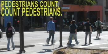 Pedestrians Count! Data, Modeling & Advocacy Workshop