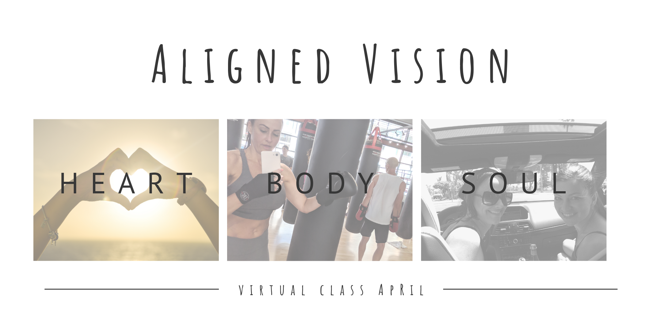 Aligned Vision Board -ONLINE Class