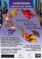 LUXBOHEME PRESENTS FASHION ART SHOW