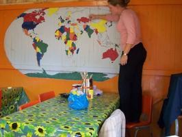 RPCV's of Colorado World Map Painting Project