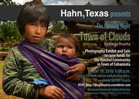 """Opening Night Exhibits """"Town of Clouds"""""""