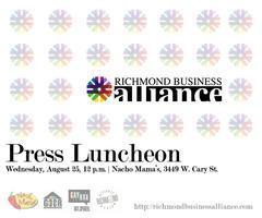 Richmond Business Alliance Press Luncheon