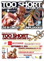 Too Short Unplugged LIVE IN CONCERT!!!
