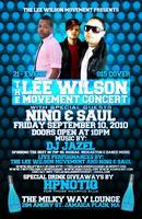 THE LEE WILSON MOVEMENT & FRIENDS CONCERT