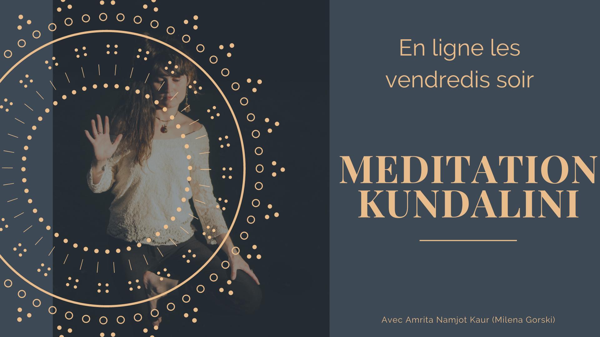 Méditation Kundalini en ligne