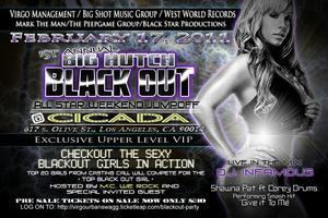 BIG HUTCH'S BLACK OUT ALL-STAR WEEKEND JUMP OFF PARTY!!