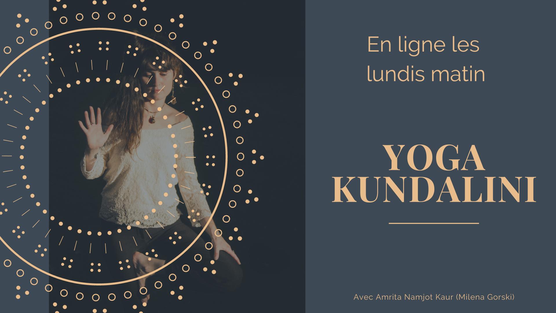 Yoga Kundalini en ligne