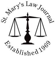 St. Mary's Law Journal's Tenth Annual Symposium on...