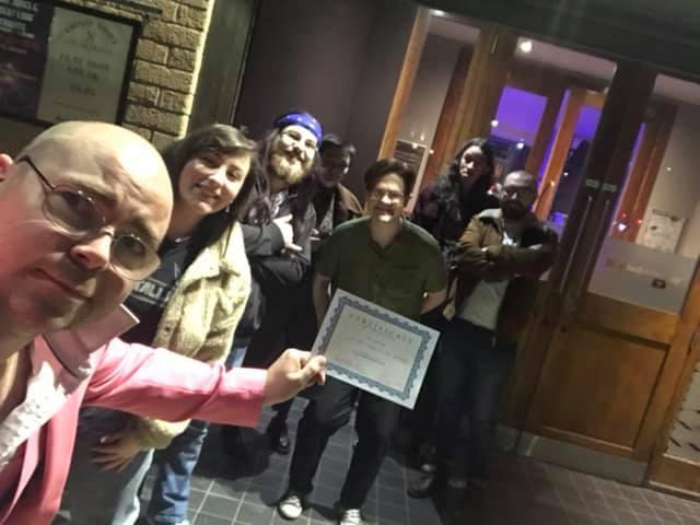 Wednesday night Glasgow Pub Quiz with Sir James