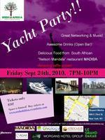 Seeds of Africa Yacht Party, Manhattan Island, New York