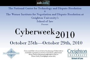 Cyberweek 2010 - October 25th to October 29th, 2010