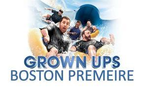 Grown Ups Boston Premiere