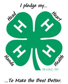 Collier County 4-H  logo