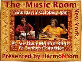 THE MUSIC ROOM - Pt. Vishwa Mohan Bhatt, Ut. Shahid...