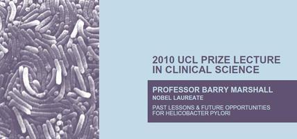 UCL Prize Lecture in Clinical Science - Monday 20th...